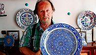"""UNESCO'nun """"Yaşayan İnsan Hazinesi"""" Ödülünü Verdiği Çini Sanatçısı Mehmet Gürsoy"""