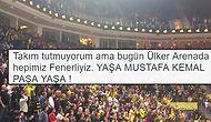 Fenerbahçe, Euroleague'de Milano'yu Devirdi! Taraftarlar Hep Bir Ağızdan 'Yaşa Mustafa Kemal Paşa Yaşa' Diyerek Salonu İnletti