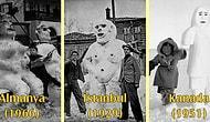 Kardan Adam Yapmanın Her Daim Eğlenceli Olduğunu Gösteren 30 Tarihi Fotoğraf