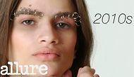 Kadın Kaş Modasının 100 Yıl İçindeki İnanılmaz Değişimi