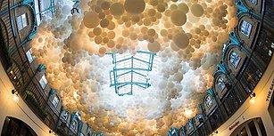15 Çalışmasıyla Halka Açık Alanları Balonlarıyla Renklendiren Sanatçı Charles Petillion
