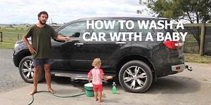 Çocuğunuzla Birlikte Nasıl Araba Yıkarsınız?