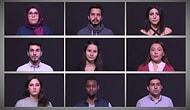 Üniversiteli Gençlerden 30 Dilde Teröre Hayır Mesajı
