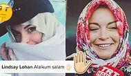 Lindsay Lohan'ın Bitmek Bilmeyen Din Serüveninin Yeni Boyutu: Aleyküm Selam!