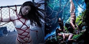 Geleneksel Güzelliği Erotik Sanat ile Birleştiren Japon İp Bağlama Ustasının Dudak Uçuklatan İşleri