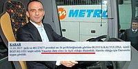 'Otobüste Dayak' Haberi Sonrası Metro Turizm'in Sahibinden Bir Garip Darp 'İtirafı'