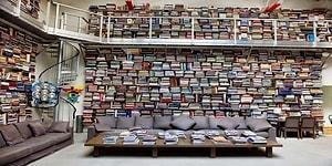 Modacı Karl Lagerfeld'in, Kitap Kurtlarını Kendisine Âşık Edecek Muhteşem Kütüphanesi!