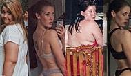 Eli Büyüklüğündeki Porsiyonları Çay Kaşığıyla Yiyerek Obezken Model Olan Azimli Kadın