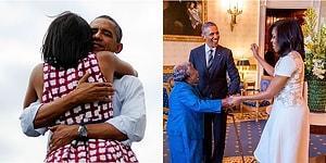 Amerika'nın Gözde Çiftlerinden Barack ve Michelle Obama'nın Birbirinden Özel 26 Anı