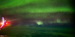 İzlemesi Aşırı Keyifli Şeylerde Bugün: 10 Bin Metre Yükseklikten Kuzey Işıkları