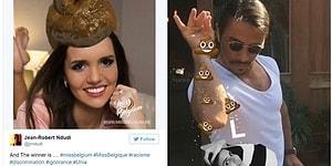 Instagram'ındaki Irkçı Yoruma Verdiği 'Kaka Emojili' Cevapla Herkesi Kızdıran Belçika Güzeli