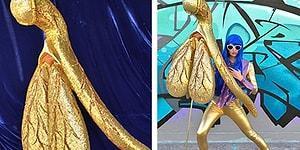 Avustralyalı Sanatçının Simler ve Pullar İle Yaptığı Devasa Klitoris Heykeli