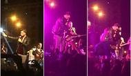 Konseri Durdurup Tacize Uğrayan Kadını Kurtaran Şarkıcı