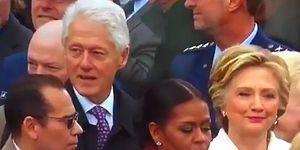 Ivanka'yı Keserken Hillary Clinton'a Yakalanan Bill Clinton