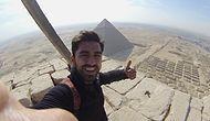 Keops Piramidi'ne Tırmanıp Tutuklanan Çılgın Türk: Fatih Kömürcü