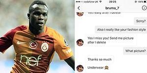 Bruma'nın Instagram'da Bir Kadından İç Çamaşırı Fotoğrafı İstemesi Tartışma Yarattı