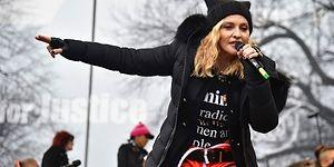 'Kız Kardeşlik Yürüyüşü'nde Yaptığı Konuşma Madonna'nın Başını CIA ile Belaya Soktu