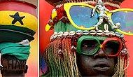 'Tribün Nasıl Olur?' Tüm Dünyaya Gösteren Afrikalı Taraftarlardan Rengarenk 26 Fotoğraf