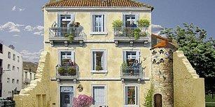 16 Çalışmasıyla Fransa'yı Dolaşarak Bina Duvarlarına Resim Yapan Sanatçı: Patrick Commecy