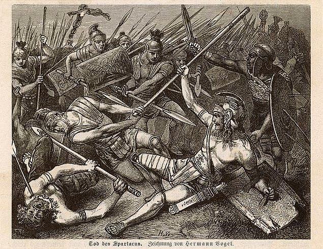 Spartaküs ve ordusu çok zorlu bir yürüyüşten sonra çizme biçimindeki İtalya'nın burnu olan Messina'ya ulaştılar. Önlerindeki tek engel denizdi ve korsanlara para vererek Sicilya'ya geçmeyi planlıyorlardı.