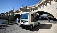 Paris'te Elektrikli ve Sürücüsüz Otobüsler Yola Çıktı!