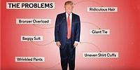 GQ'dan Donald Trump'ın Dış Görünüşüne Başkanlık Makyajı