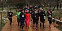 Maçka Parkı'nda Koşulu Protesto: 'Bize Nefes Almak İçin Yer Bıraksınlar'