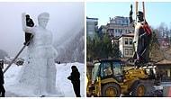 Rizeliler Kaldırılan Atatürk Heykelini Unutmadı: Heykel, Çamlıhemşin'deki Şenlikte 'Yeniden' Yapıldı
