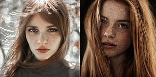 15 Etkileyici Fotoğrafla Çilli ve Kızıl Saçlı Kadınların Büyüleyici Güzelliği