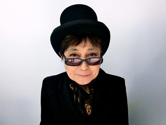 Yoko Ono - 83 yaşında