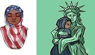 Sanat 'Yasak' Dinlemez! Trump'ın Göçmen Yasağını Protesto Eden Sanatçılardan 14 Çizim