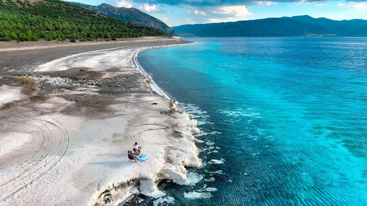 Türkiyenin Ege Denizindeki Tatil Köyleri - kimsenin bilmediği bir cennet