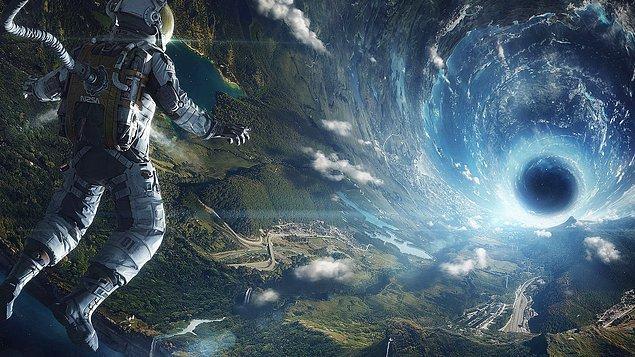 Ufkun evrenin sınırlarına dayanmış!