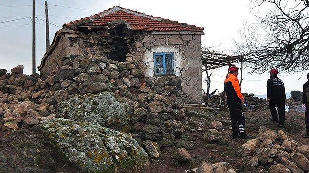 Taşağıl, Tuzla, Yukarı, Çam ve Gülpınar köylerinde hasar ile yıkım meydana geldi.