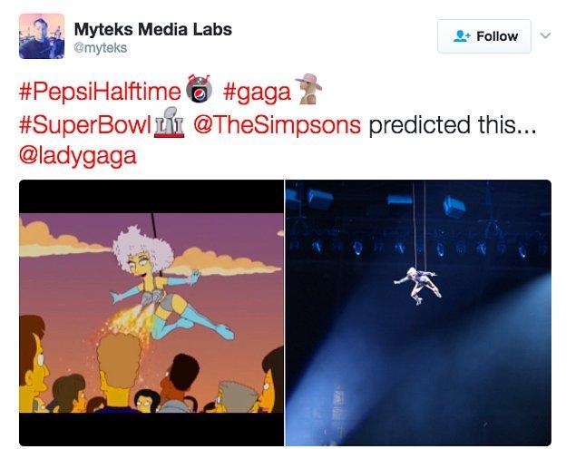 12. Şaka yok! Sanıyoruz ki bu sahnenin yaşanacağını, Simpsonlar başka şeylerde olduğu gibi yine öngörmüş 😂