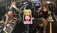 Şaşırtmadı! Mariah Carey Topuklu Ayakkabılarıyla Spor Yaptı Çünkü Neden Yapmasın?