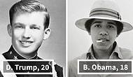 Onlar da Bir Zamanlar Gençti! Tarihteki ABD Başkanlarının Gençlik Halleri