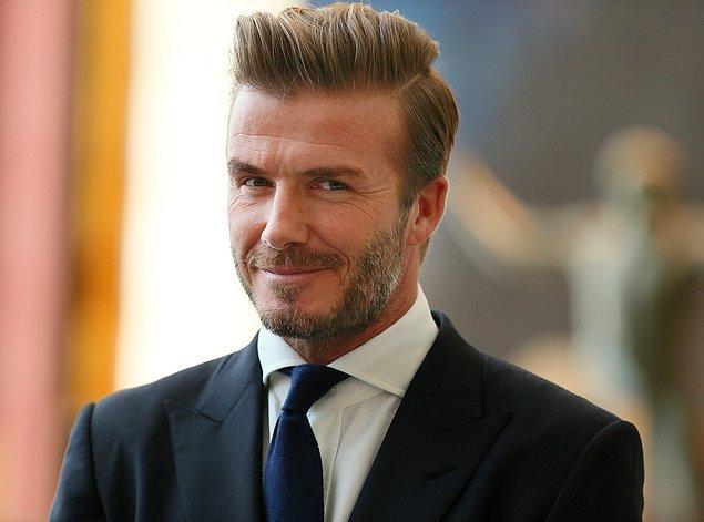 Beckham'ın temsilcisi konuyla ilgili bir açıklama yaptı;