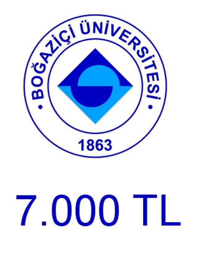 Boğaziçi - 7.000 TL!