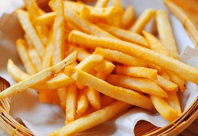 13. Kızarmış patates