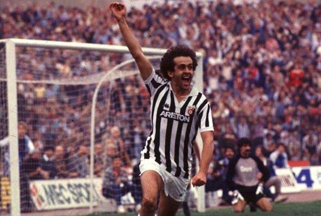 6. Michel Platini (Nancy, Saint-Étienne, Juventus & Fransa)