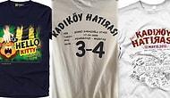 Taraftarların Zamanında Çok Sevdiği İyi Mizah İçeren 20 Bol Göndermeli Tişört