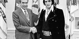 Dünyaca Ünlü Rock Yıldızlarının ABD Başkanlarıyla Birlikte Çektirdiği 20 Fotoğraf