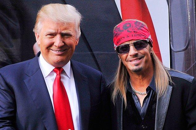 4. Bret Michaels & Donald Trump