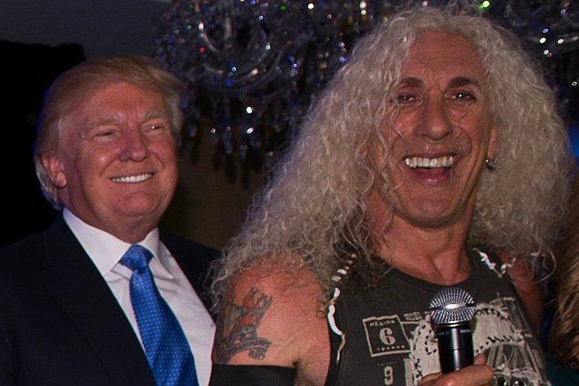 9. Dee Snider & Donald Trump