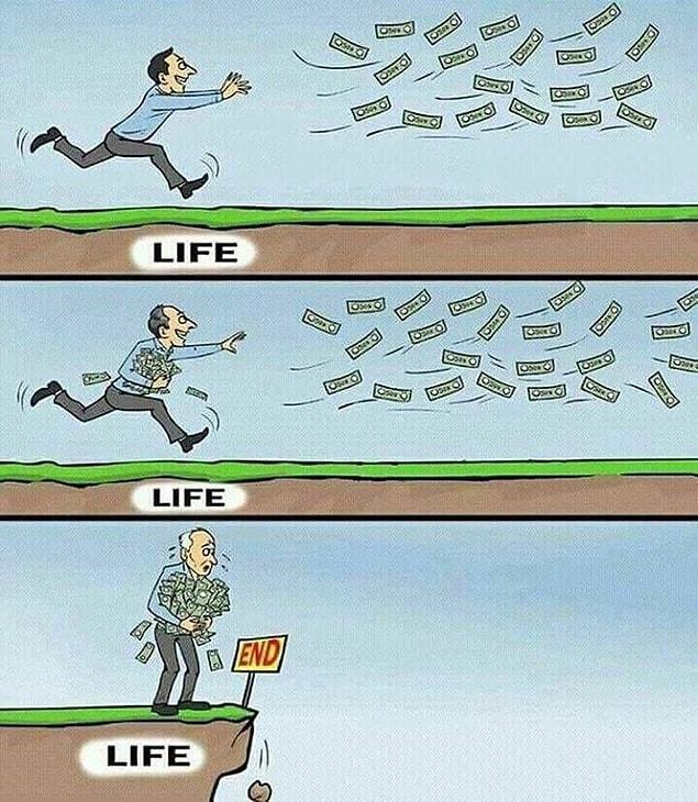 Paranın peşinden koşarken ânı kaçırmamak.