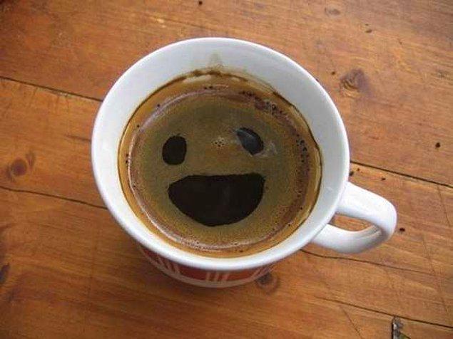 10. Sabah güne bu kahveyle başlamak gerçekten de iyi gelir