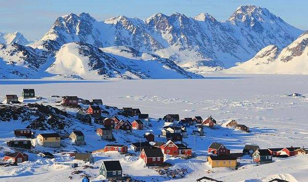 8. Grönland'de her 5 insandan 1'i intihara teşebbüs ediyor.