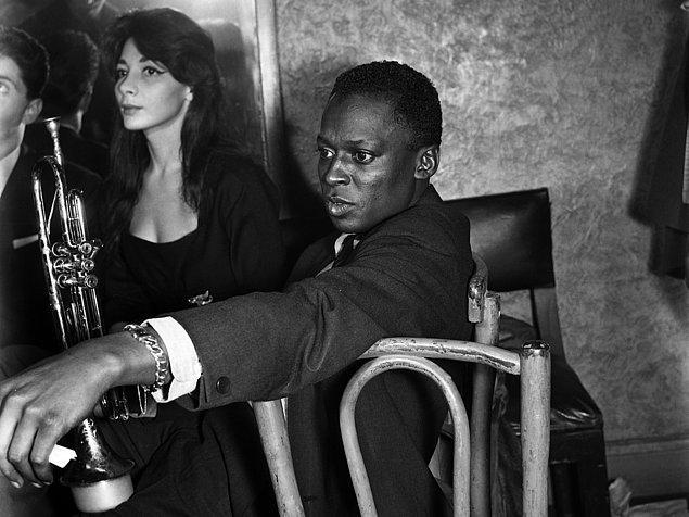 4. Miles Davis ve Juliette Gréco