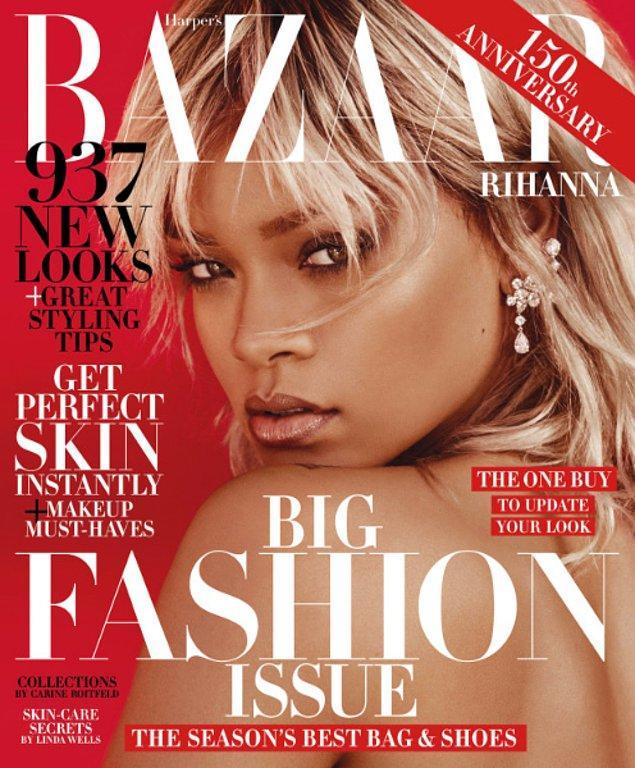 20. Harper's Bazaar dergisi için yakın zamanda verdiği bu poz ile de muhteşem cazibesini gözler önüne seriyor.